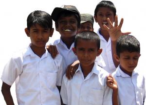 Schul Kindern Sri Lankas